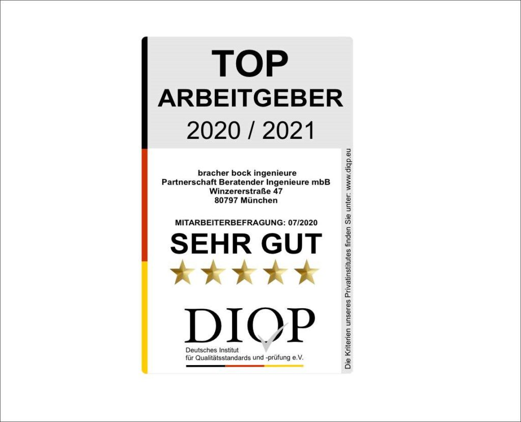 Top Arbeitgeber (DIQP) das Arbeitgebersiegel